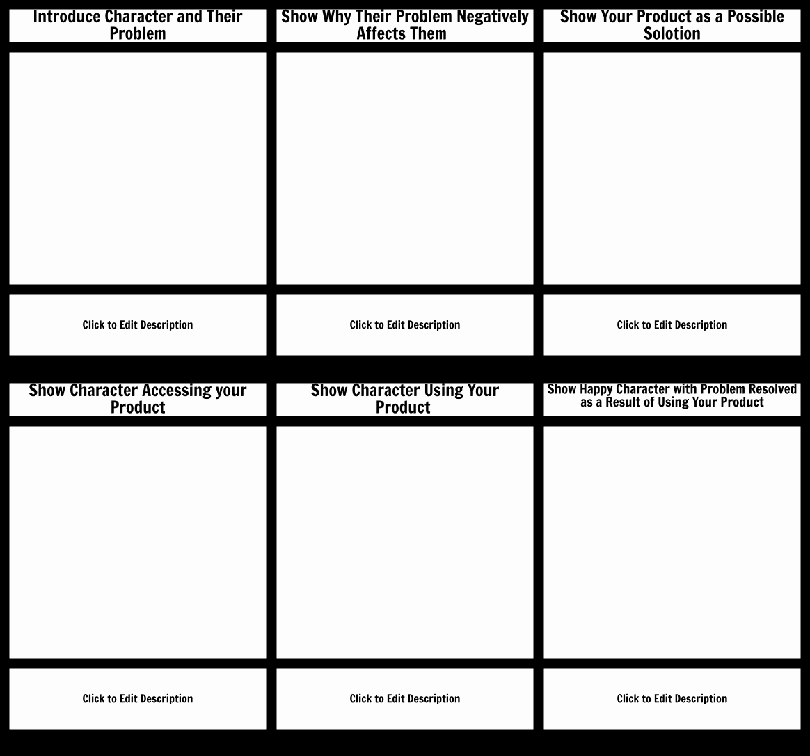 Film Storyboard Template Pdf Inspirational Customer Journey Template Storyboard by Josh