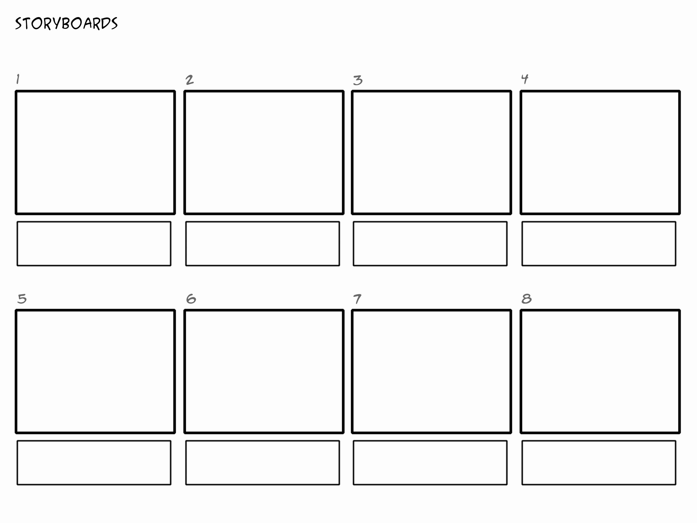Film Storyboard Template Pdf Unique Image Result for Professional Film Storyboard Template