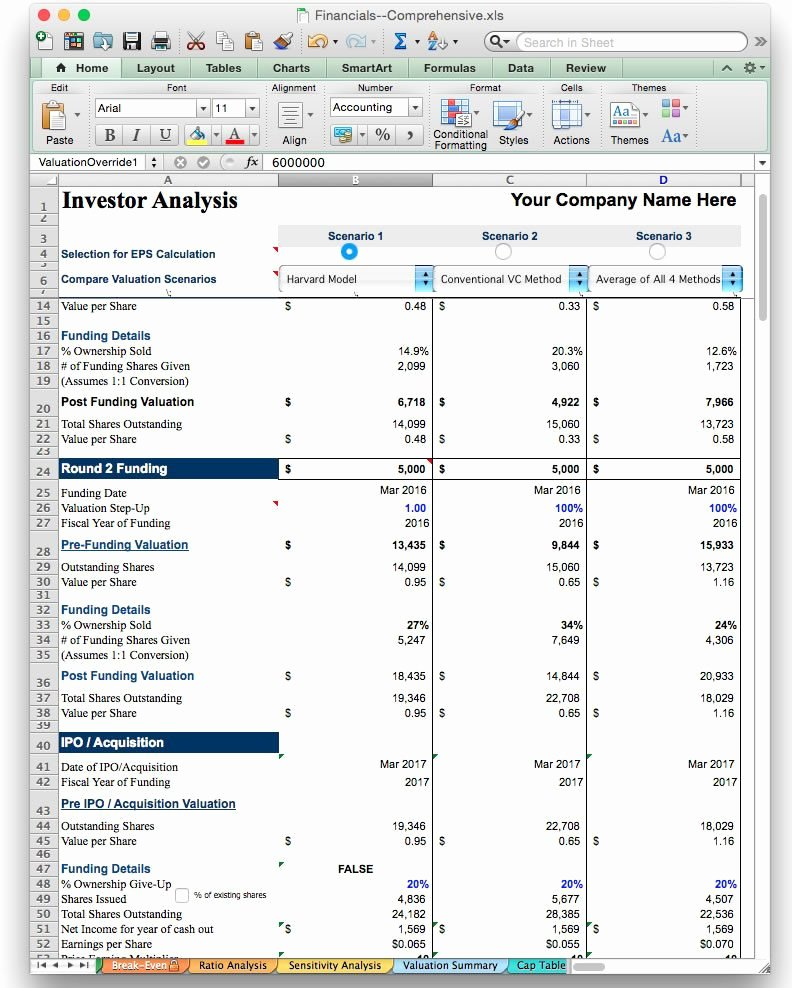 Financial Plan Template Excel Awesome Business Plan Financial Model Template Bizplanbuilder