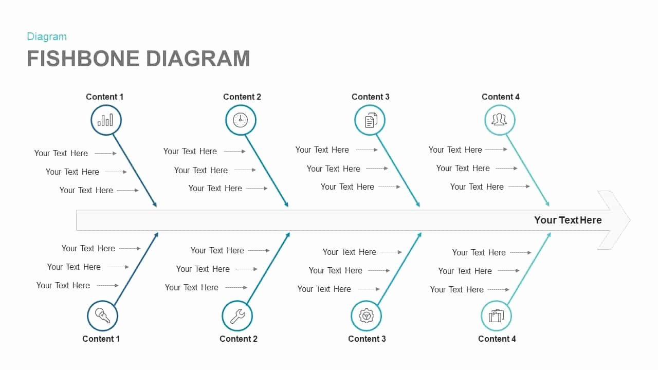 Fishbone Diagram Template Doc New Fishbone Diagram Keynote and Powerpoint Template