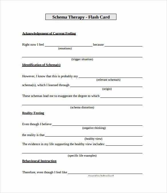 Flash Card Template Pdf Beautiful Sample Flash Card 11 Documents In Pdf