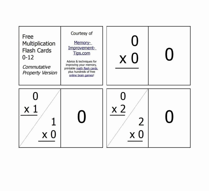 Flash Card Template Pdf Fresh 30 Simple Index Flash Card Templates [free] Template