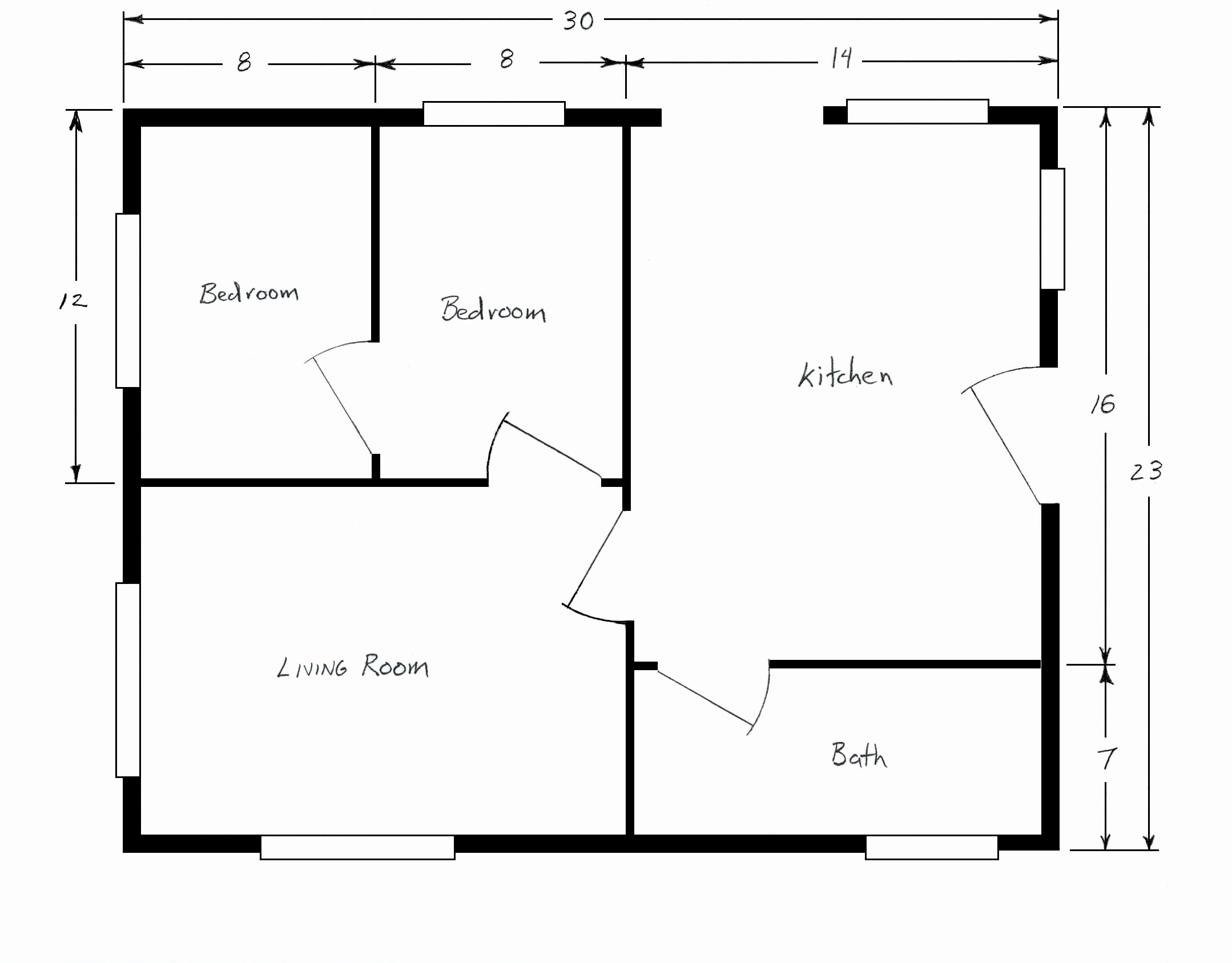 Floor Plan Templates Free Lovely Free Home Plans Sample House Floor Plans Simple Floor