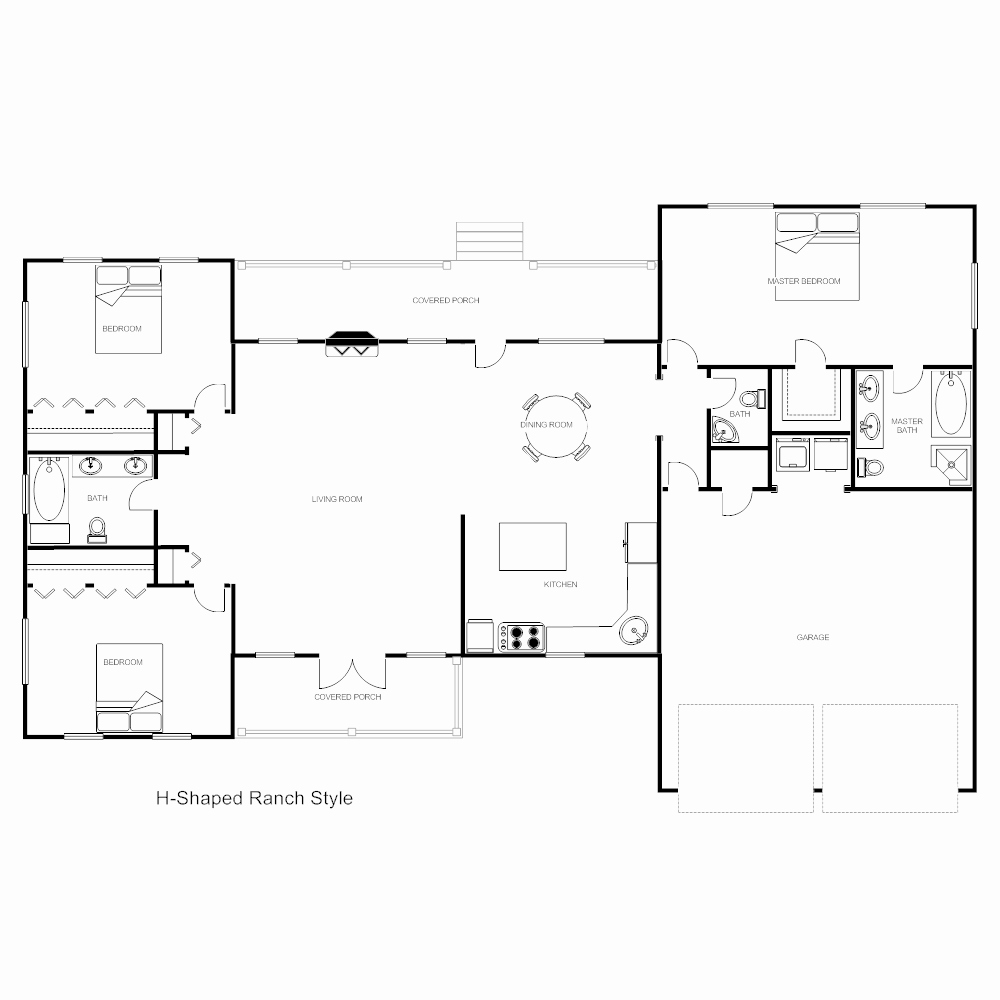 Floor Plan Templates Word Best Of Floor Plan Templates Draw Floor Plans Easily with Templates