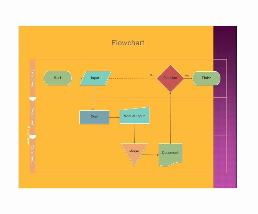Flow Chart Template Word Inspirational 40 Fantastic Flow Chart Templates [word Excel Power Point]