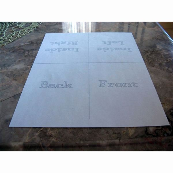 Fold Over Place Card Templates Inspirational Creating Your Own Quarter Fold Printable Cards