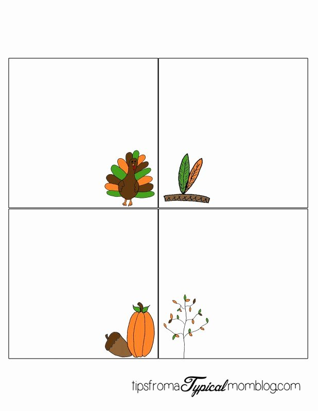 Fold Over Place Cards Template Beautiful Free Thanksgiving Dinner Printables