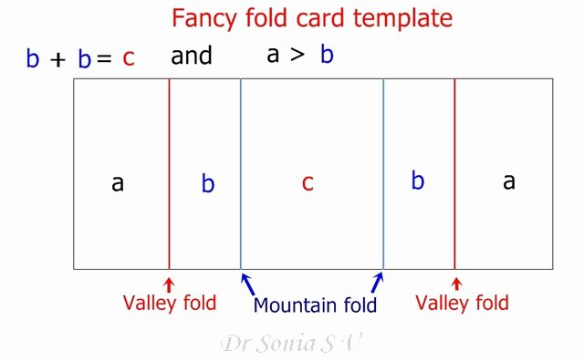 Fold Over Place Cards Template Lovely Fancy Fold Pop Up Dangler Card