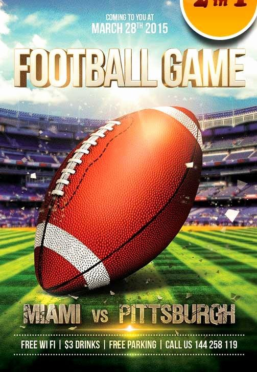 Football Flyer Templates Free Unique 20 attractive & Free Sports Flyer Templates