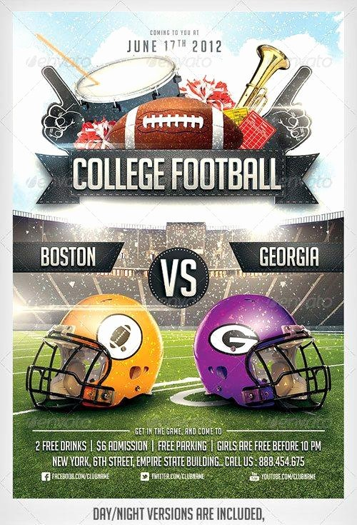 Football Flyer Templates Free Unique top 10 American Football Psd Flyer Templates