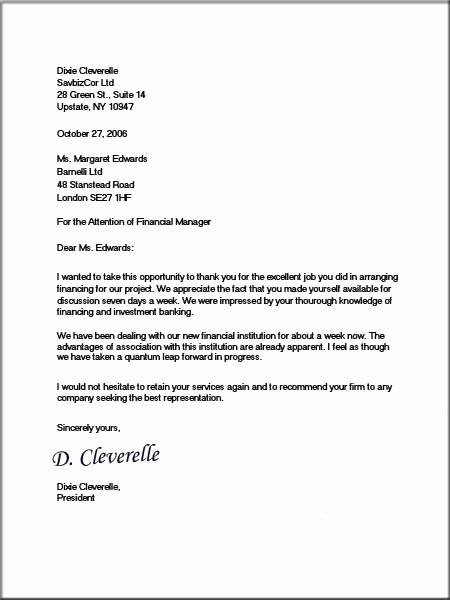 Formal Business Letter Template Awesome formal Letter format