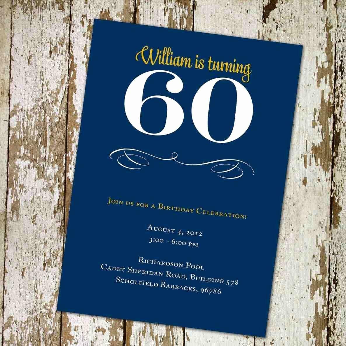 Free 60th Birthday Invitations Templates Elegant Full Size Of Template 30th Birthday Invitations Templates