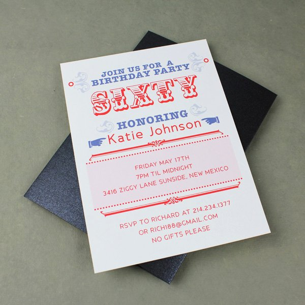 Free 60th Birthday Invitations Templates Lovely 60th Birthday Party Invitation Template – Download & Print