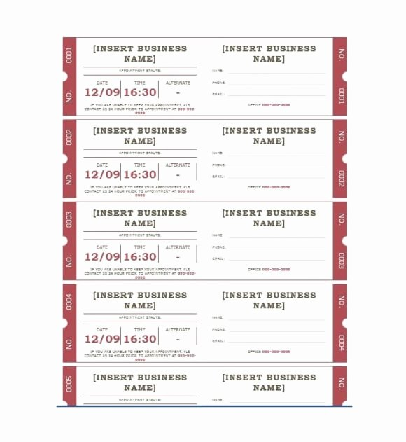 Free Appointment Card Template Beautiful 40 Appointment Cards Templates & Appointment Reminders