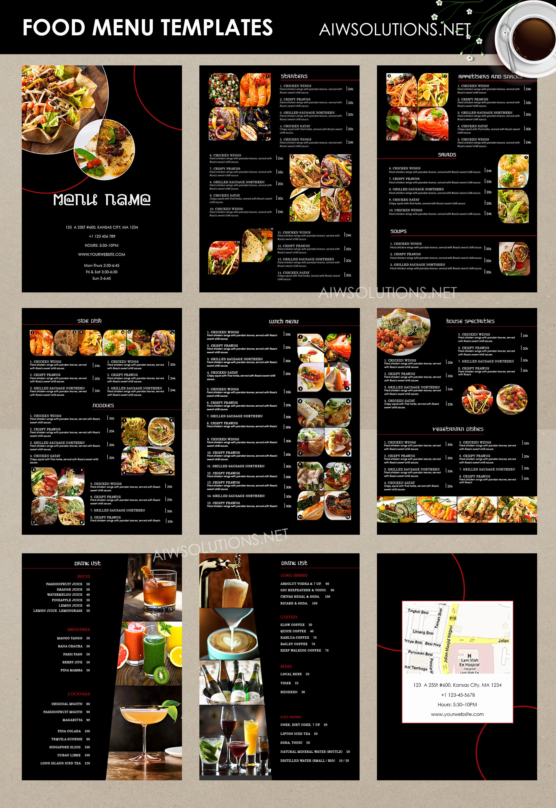 Free Bar Menu Templates Beautiful Design & Templates Menu Templates Wedding Menu Food