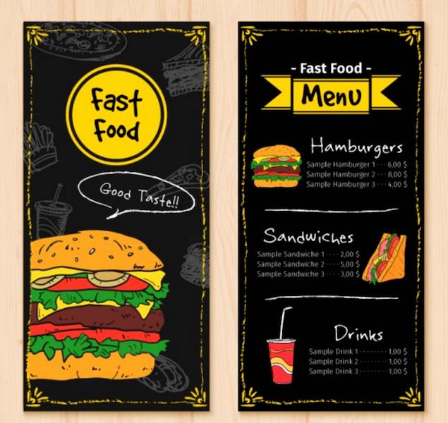 Free Bar Menu Templates Beautiful top 39 Free Restaurant Menu Psd Templates & Mockups 2019