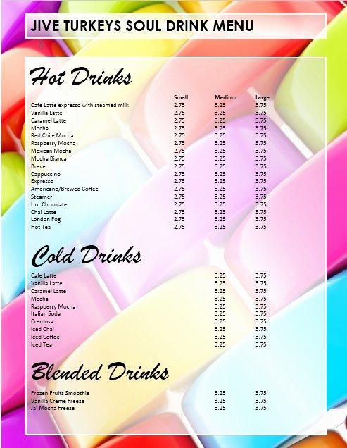 Free Bar Menu Templates Best Of 5 Free Sample Bar Menu Templates Printable Samples