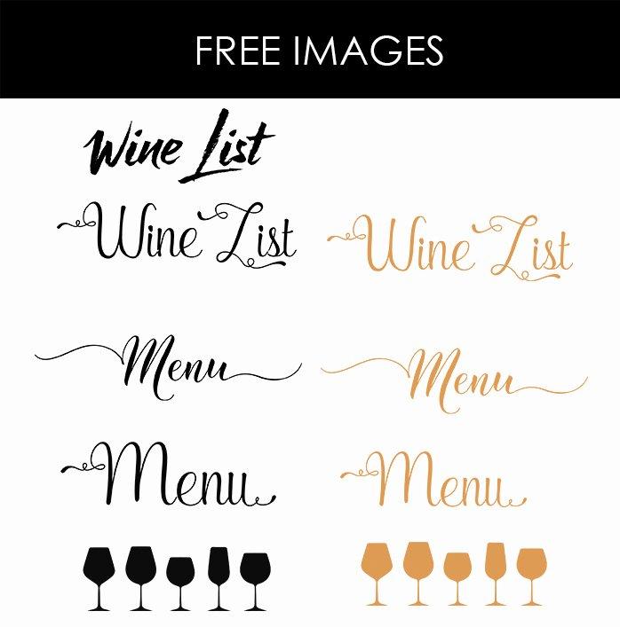 Free Bar Menu Templates New Design & Templates Menu Templates Wedding Menu Food