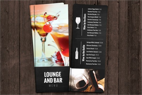 Free Bar Menu Templates New Free 30 Bar Menus Templates In Illustrator