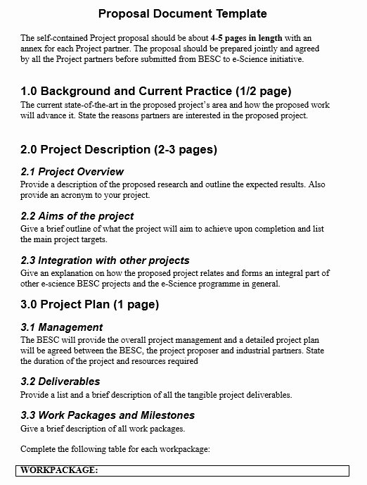 Free Bid Proposal Template Fresh 8 Free Sample Project Bid Proposal Templates Printable