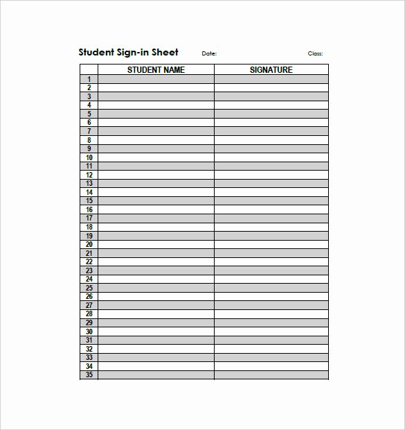 Free Blank Excel Spreadsheet Templates Elegant 26 Of Printable Template for Blank Sign