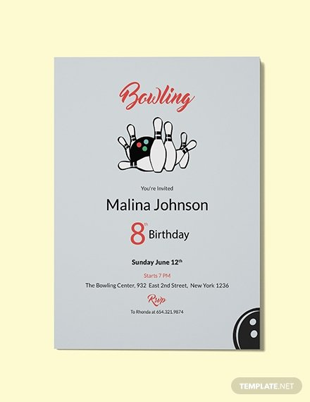 Free Bowling Invitation Template Lovely Free Elegant Invitation Template Download 344