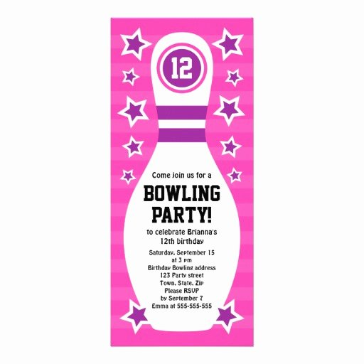 Free Bowling Invitation Template Lovely Free Printable Bowling Party Invitation Templates