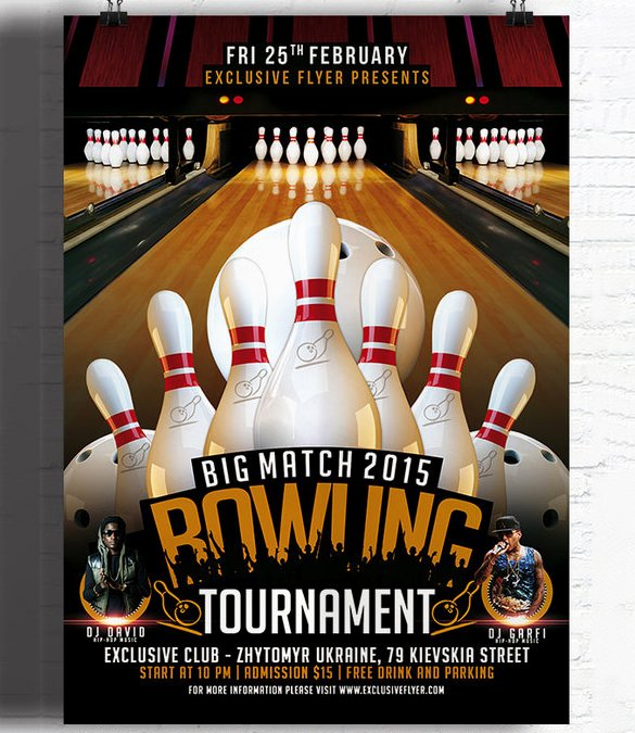 Free Bowling Invitations Template Awesome Blank Bowling Flyer Free Download Printable Templates Lab