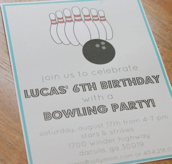 Free Bowling Invitations Template Awesome Free Bowling Invitation Template