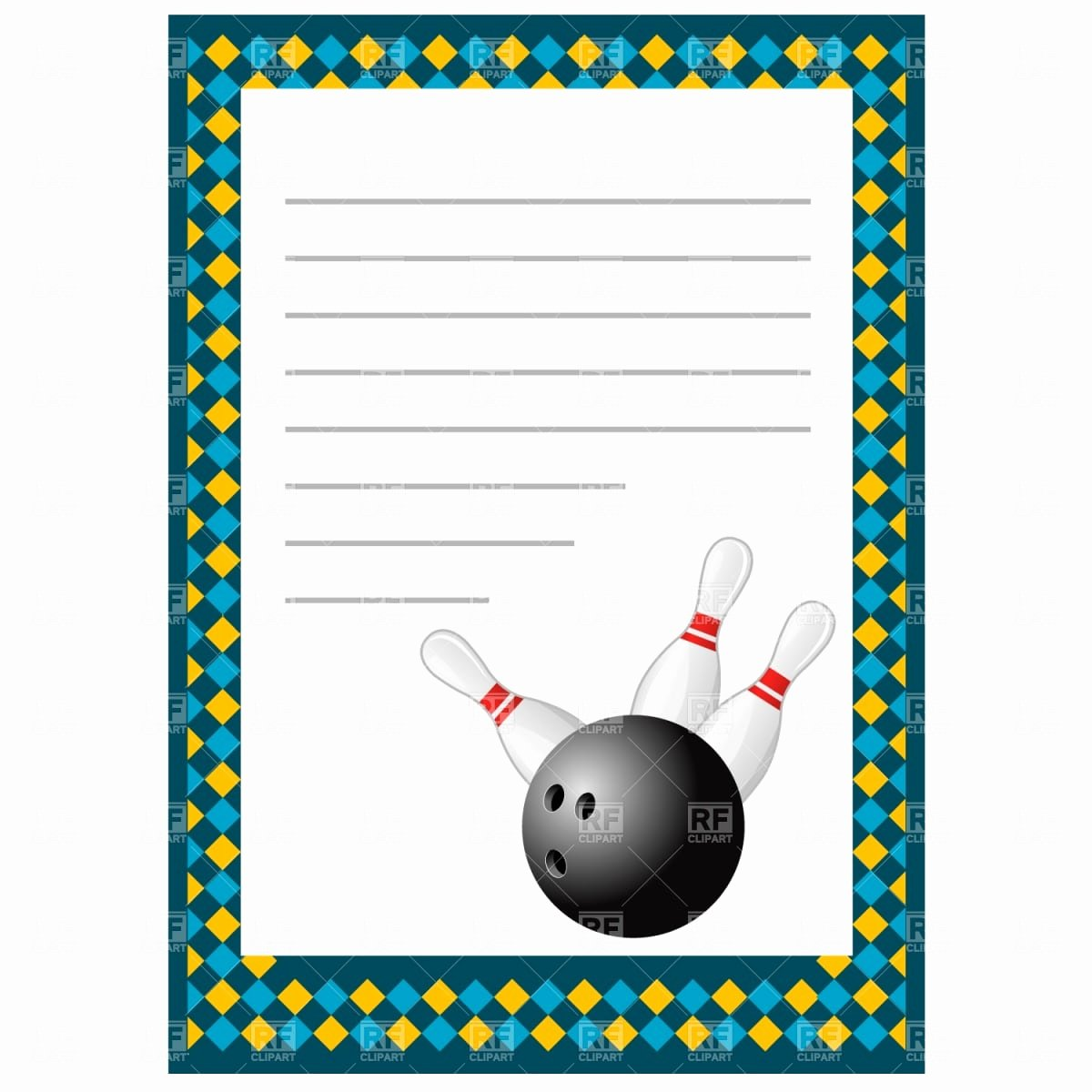 Free Bowling Invitations Template New Bowling Invitation Template