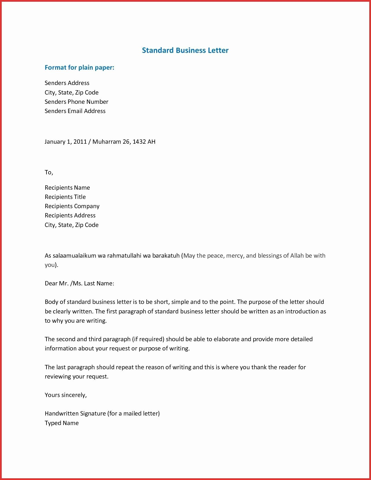 Free Business Letter Template Awesome Pin by Template On Template
