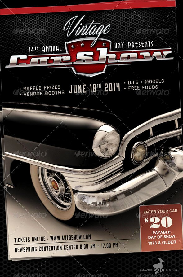 Free Car Show Flyer Template Beautiful Classic Car Show by Sgcanturk