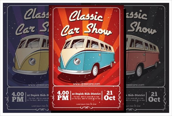 Free Car Show Flyer Template Fresh 22 Car Show Flyer Templates Ai Psd Docs
