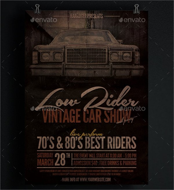 Free Car Show Flyer Template Lovely 22 Car Show Flyer Templates Ai Psd Docs