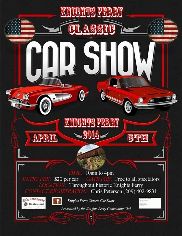 Free Car Show Flyer Template Unique Knights Ferry Classic Car Show Knights Ferry Ca