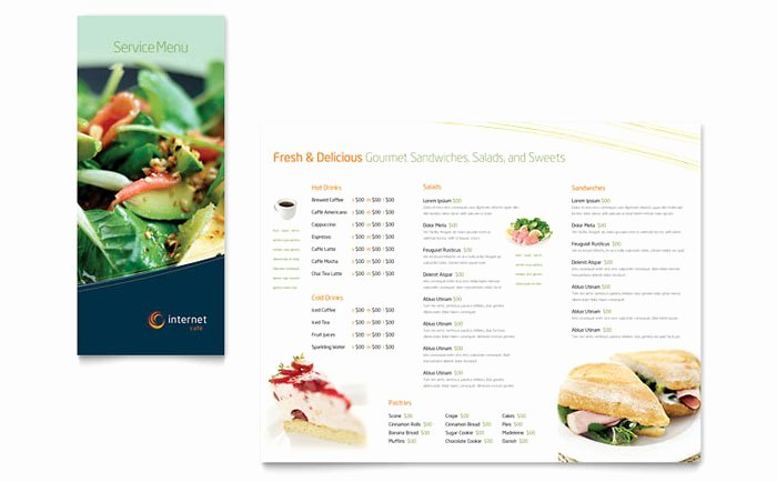 Free Catering Menu Templates Awesome Free Restaurant Menu Template Download Free Sample Layouts