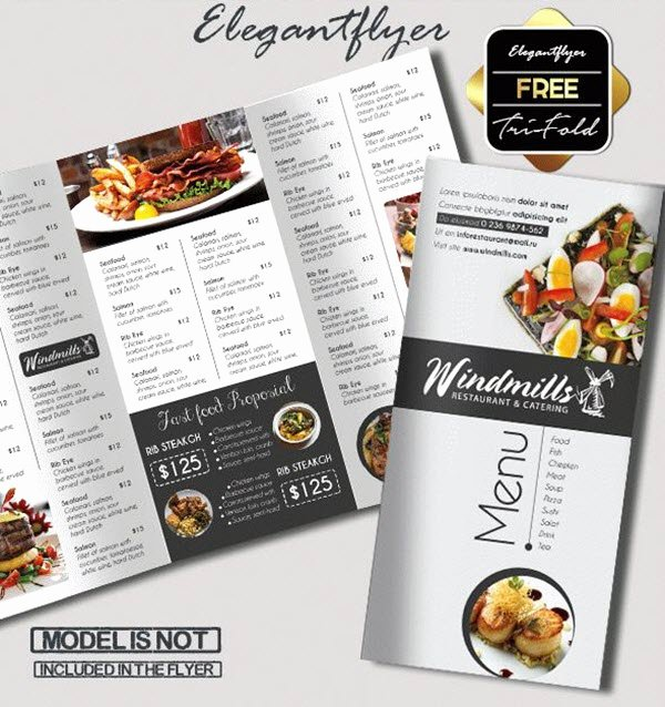 Free Catering Menu Templates Elegant 15 Free & Exclusive Menu Psd Templates for Cafes and