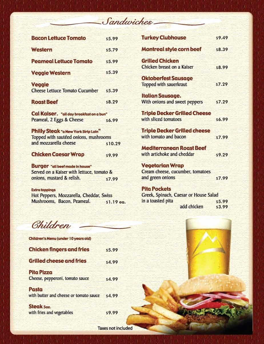 Free Catering Menu Templates Elegant 8 Menu Templates Excel Pdf formats