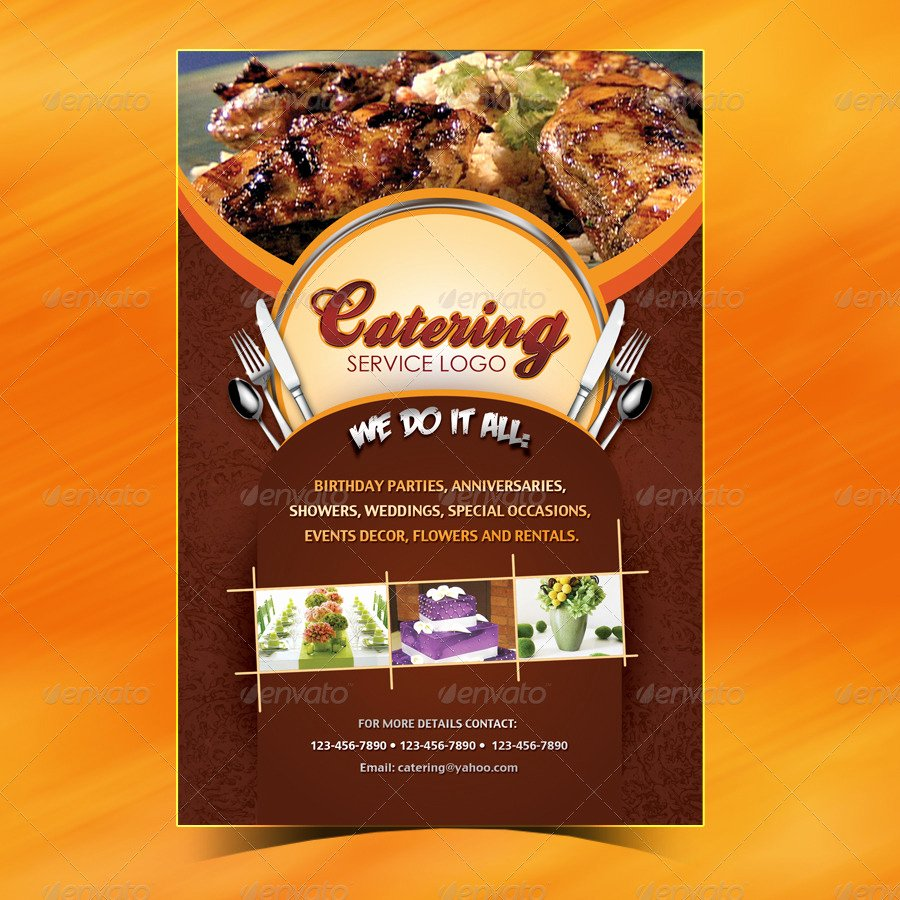 Free Catering Menu Templates New Catering Menu Template Flyer by Owdesigns