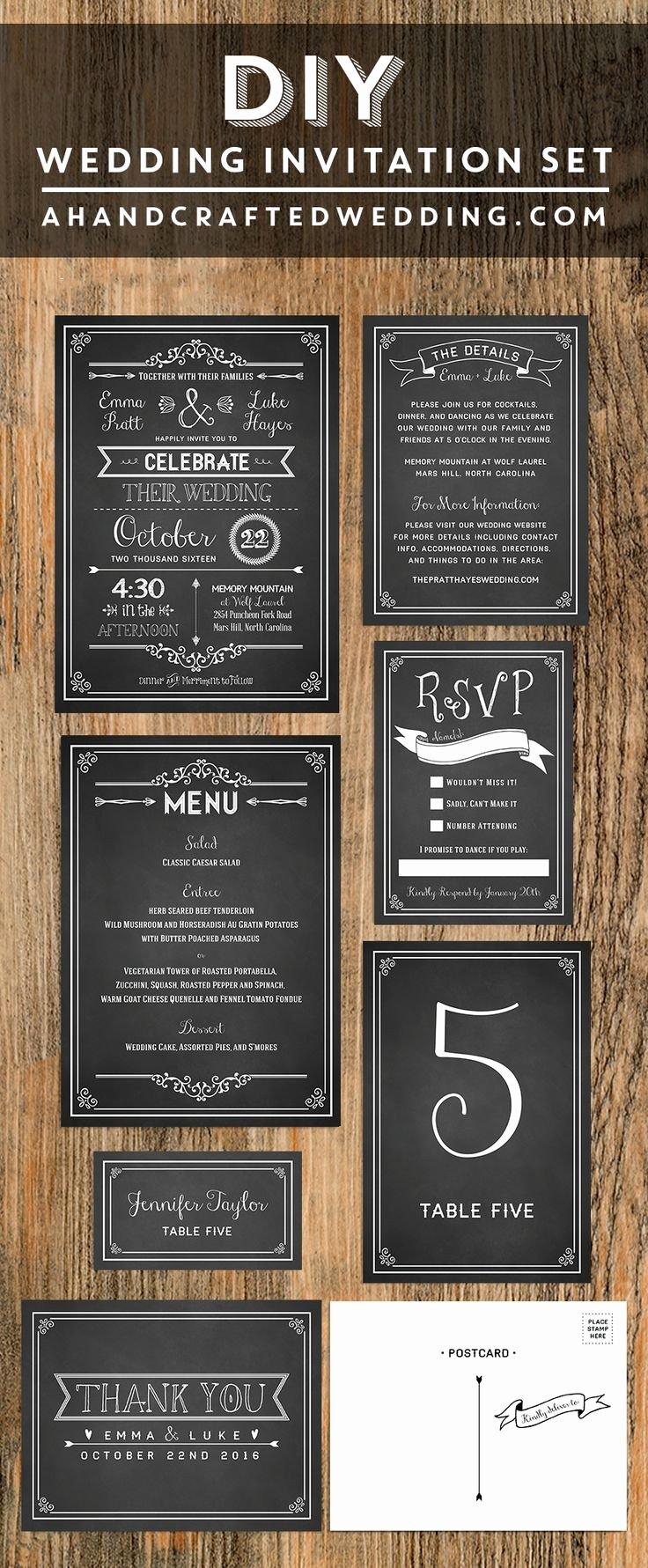 Free Chalkboard Invitation Templates Luxury 17 Best Ideas About Invitation Templates On Pinterest