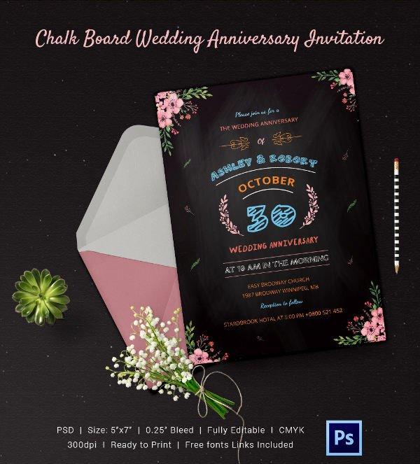 Free Chalkboard Invitation Templates Luxury Chalkboard Invitation Template 45 Free Jpg Psd