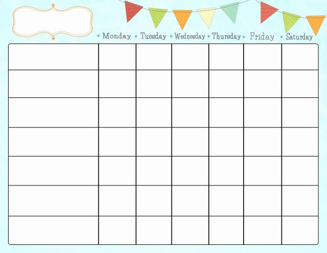 Free Chore Chart Template Fresh Free Printable Chore Charts for Kids