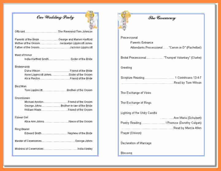 Free Church Bulletin Templates Beautiful Free Printable Church Bulletin Templates