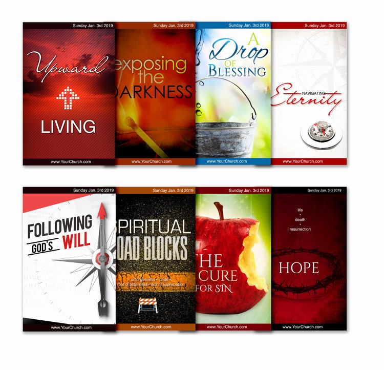 Free Church Bulletin Templates Elegant Free Church Bulletin Templates 8 Professionally Designed