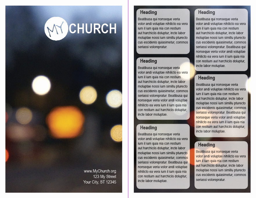 Free Church Bulletin Templates Fresh 5 5 In X 8 5 In Worship Guide Bulletin Template