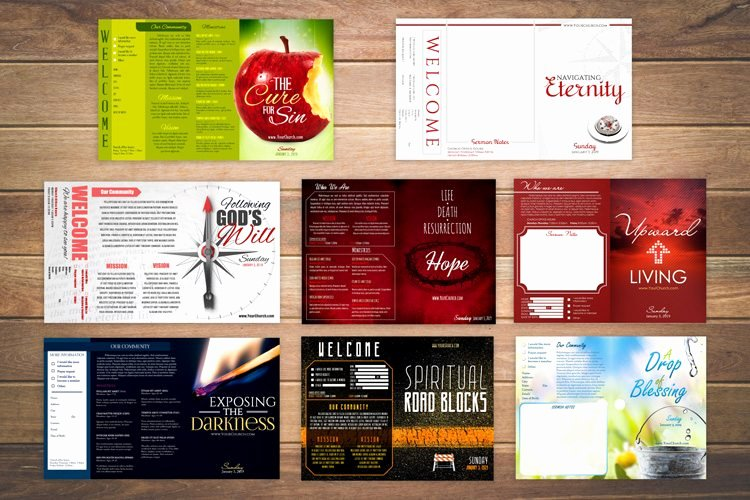 Free Church Bulletin Templates New 8 Free Church Bulletin Templates