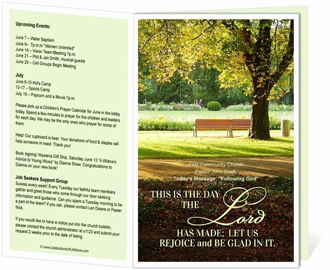 Free Church Bulletin Templates Unique 14 Best Images About Printable Church Bulletins On