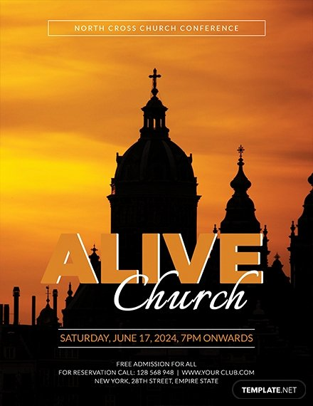 Free Church Flyer Templates Best Of Free Church Flyer Templates