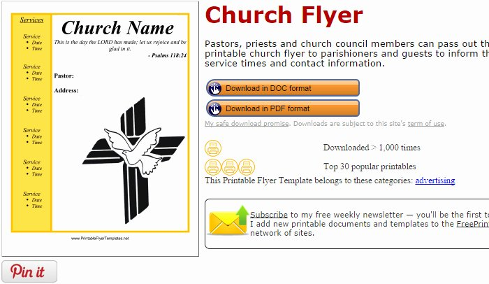 Free Church Flyer Templates Luxury 5 Free Church Flyer Templates