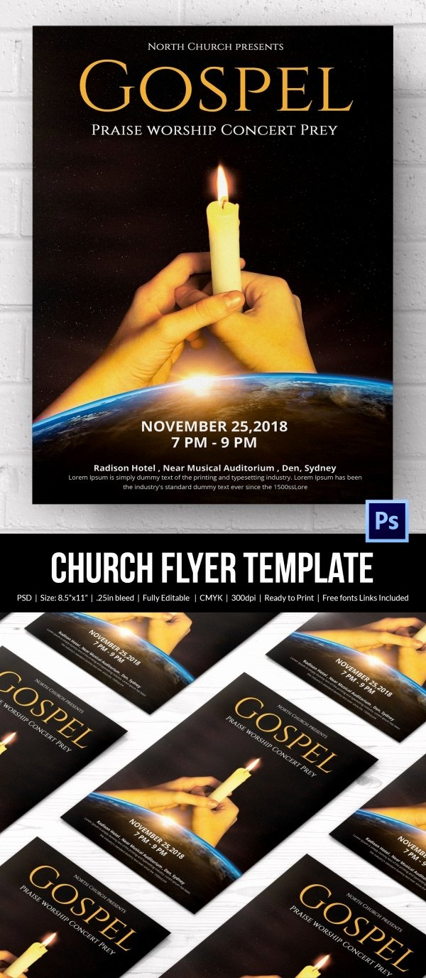 Free Church Flyer Templates New Church Flyers 26 Free Psd Ai Vector Eps format